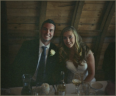 Nephew and niece-in-law, newly hitched