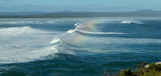 Rainbow spindrift