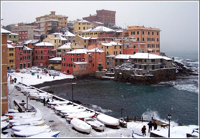 # 3 - Boccadasse under the snow - winter (102)