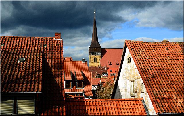 Über die Dächer