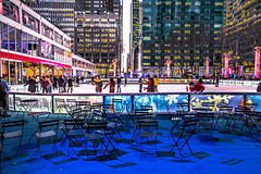 The Rink The crown jewel of Winter Village and New York City's