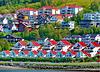 """Fiordi Tromsø : un quartiere di casette -  SPC 5/ 2019 """"effetto domino"""" v. 4"""