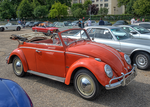 Coccinelle cabriolet 1963