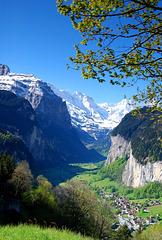 Lauterbrunnen Staubbach falls