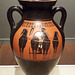 Black Figure Amphora Attributed to the Swing Painter in the Virginia Museum of Fine Arts, June 2018