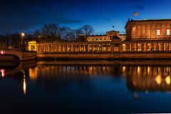 Alte Nationalgalerie mit Wandelgang. 201803