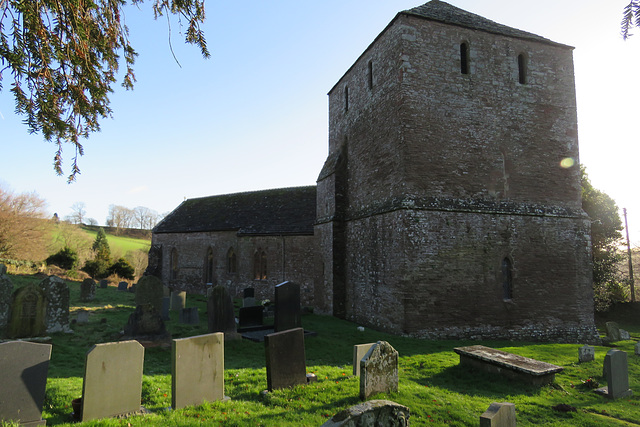 garway church, herefs