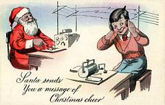 Santa Sends a Wireless Message of Christmas Cheer