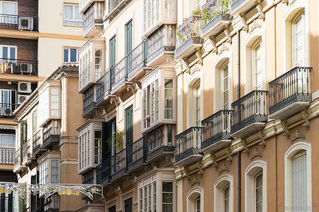 kreuz und quer durch Malaga (© Buelipix)