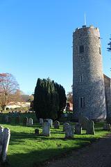 Churchyard, Wissett, Suffolk