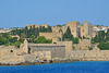 The Fortress of Rhodes and Palace of the Grand Master (View from the Sea)