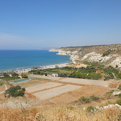 View from Κούριον.