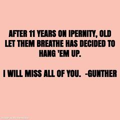 Leaving iPernity