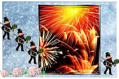 Allen ein glückliches Neues Jahr, Happy New Year, une excellente nouvelle année, próspero Año Nuevo, felice anno nuovo.  ©UdoSm
