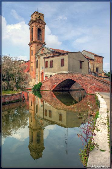 La chiesa del Carmine, Comacchio