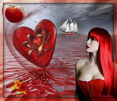 Coeur rouge...