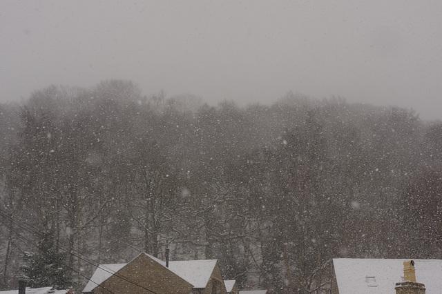 snowing !