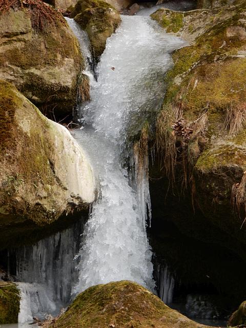 05 Gefrorener Wasserfall