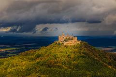 A Patch of Sunshine on a Lousy Day - Hohenzollern Castle (330°)