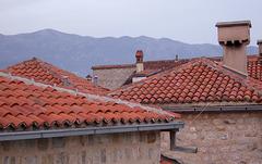 Budva rooftops