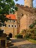Gnandstein, Tor und Zwinger der Burg