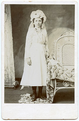 First Communion - 1880s?