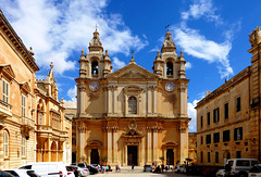 MT - Mdina - St. Paul's Cathedral