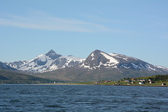 Norwegian Coast after Crossing the Barents Sea from Svalbard