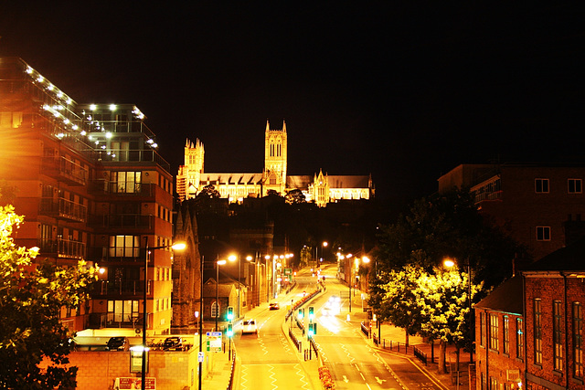 The golden city of Lincoln