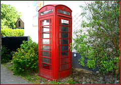 Original old phone box