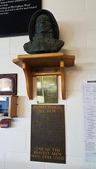 Henry Blogg memorial ~ Cromer lifeboat station