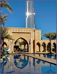 Dubai : Downtown entry