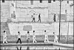 Pushkar : le départ des pèlerins