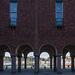 Kolonnaden des Stockholmer Rathaus / Stockholms stadshus