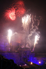 Fireworks display ~ The Royal Edinburgh Military Tattoo  ~ 2018