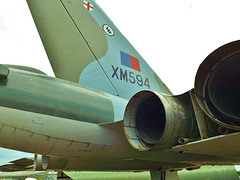 Vulcan Fin and Engine exhausts