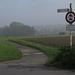Ruhrtalradweg im Morgendunst