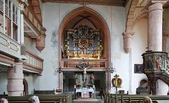 Einheit von Altar und Orgel - Unity of altar and organ
