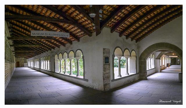 Im Kreuzgang Kloster Allerheiligen Stadt Schaffhausen