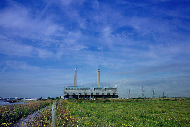 Tilbury Power Station (under demolition)  /  Aug 2017