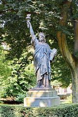 Freiheitsstatue im Jardin du Luxembourg