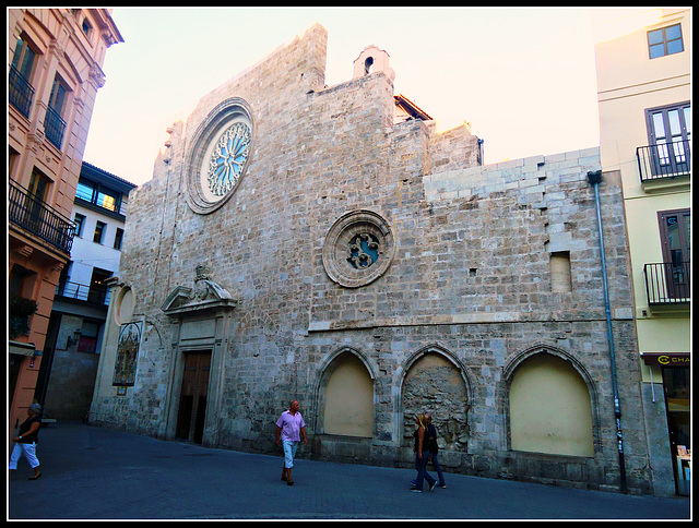 Valencia: iglesia de Santa Catalina 10