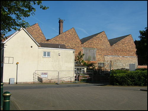condemned factory at Atherstone