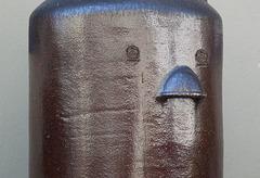 Keramik-Gesicht