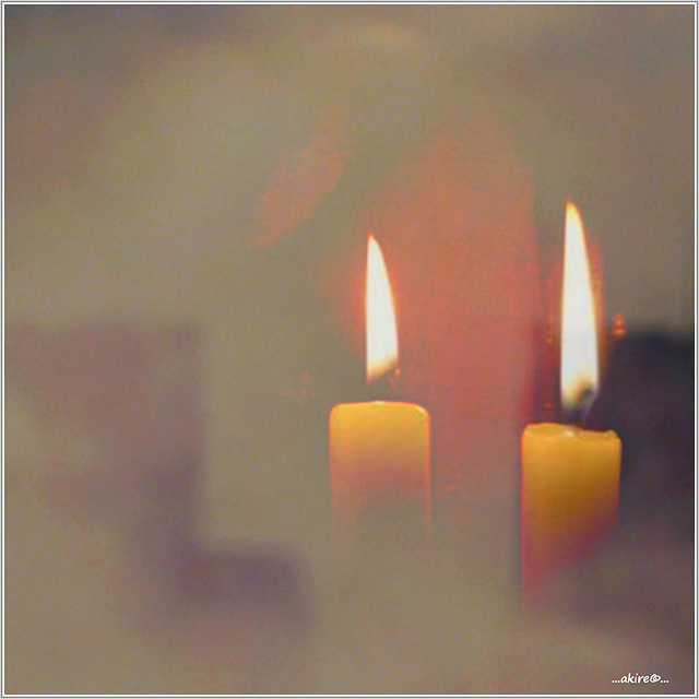 ...nur durch Dunkelheit ist das Licht hell...