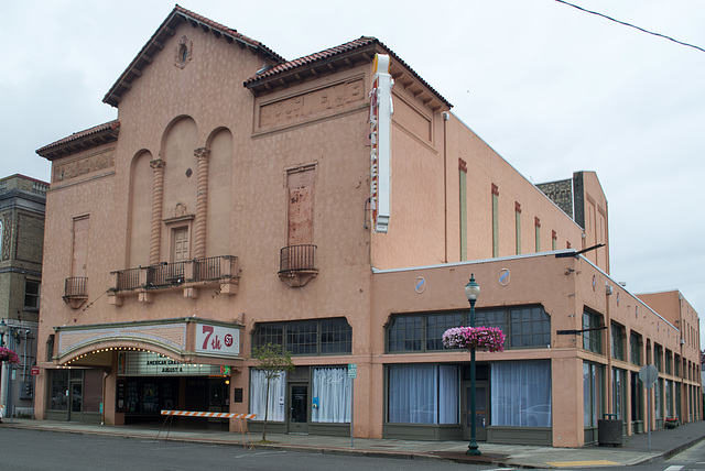 Hoquiam WA 7th Street theater  (#1325)