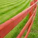 an Irish red fence
