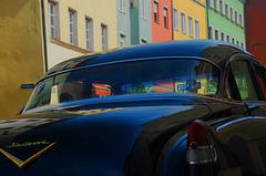 Ein Cadillac in Wasserburg