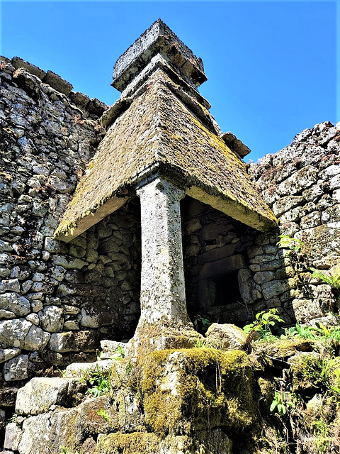 A few centuries were gone over this fabulous monument of granite