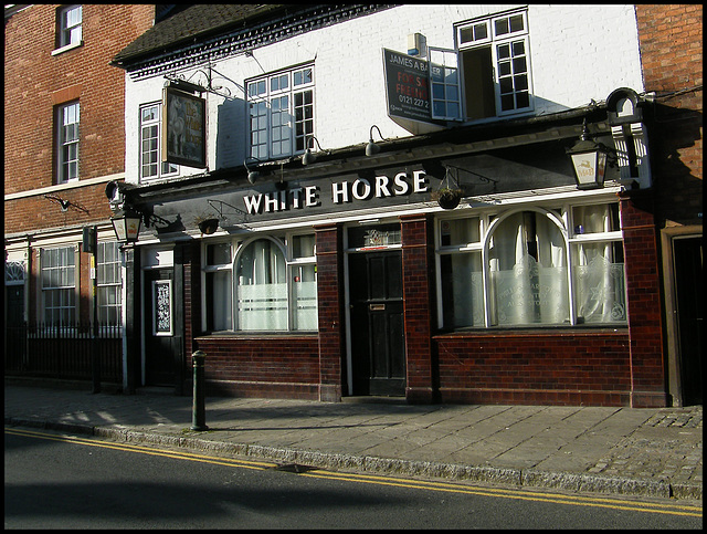 The White Horse at Atherstone